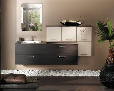Salle De Bains Influences Daujourdhui De Delpha Pour Brossette - Meuble de salle de bain delpha pour idees de deco de cuisine