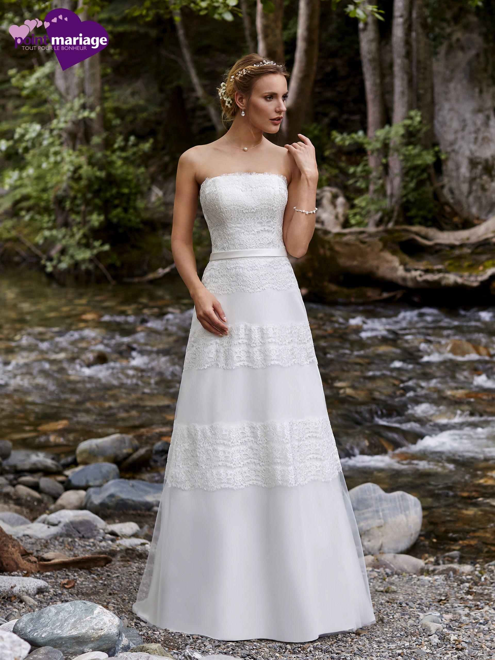 Robe de mariée Valence, robe de mariée bohè