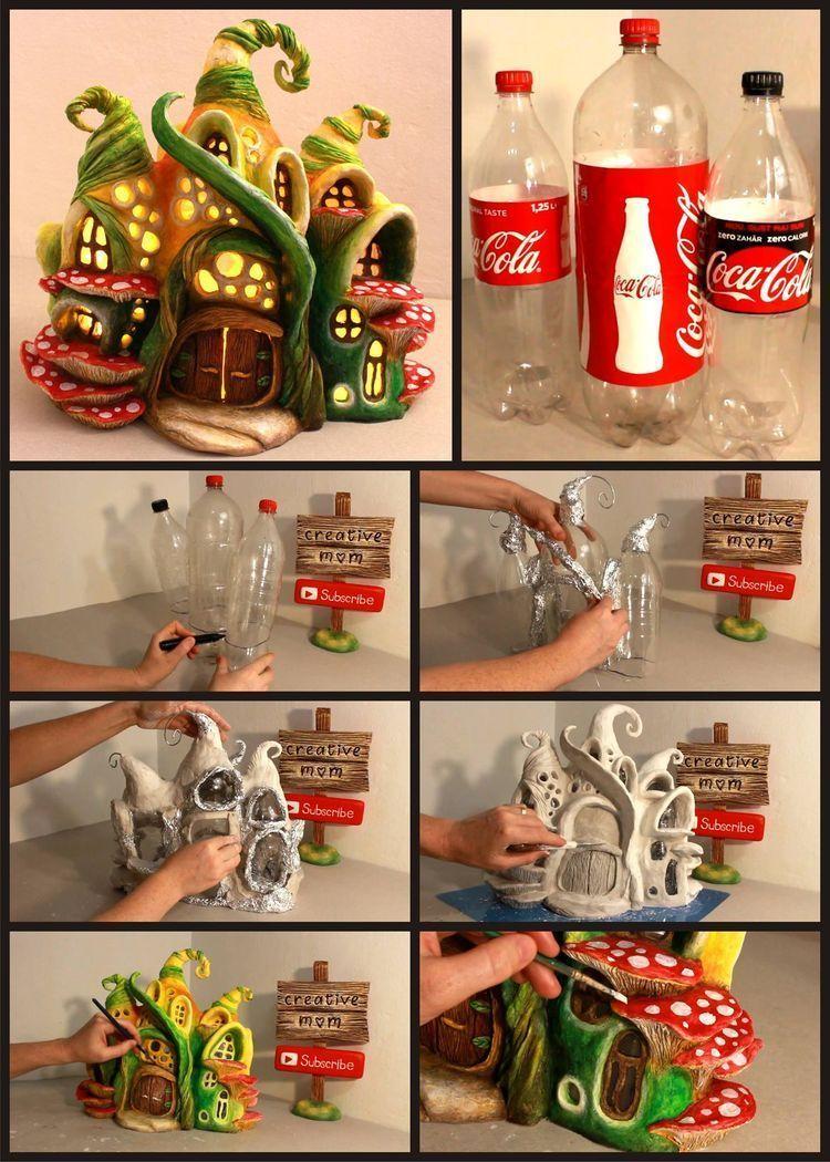 Kavanozlardan ve pet şişelerinden yaratıcı fikirler