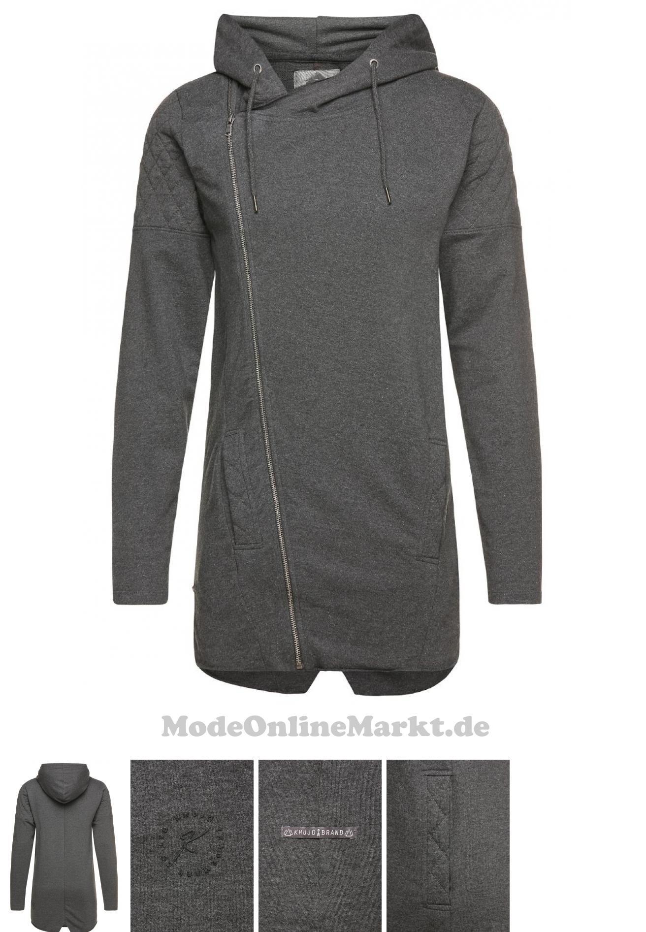 04056852304878 | #khujo #WASCO #Sweatjacke #mottled #dark #grey #für #Herren