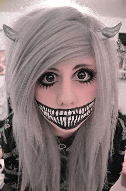 halloween fotos de maquillaje de mujer foto ella hoy maquillaje para de la cara