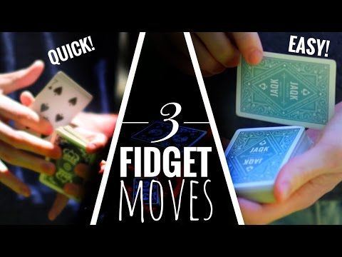 Cardistry Tutorial Bundle 3 Easy Fidget Moves Youtube Card