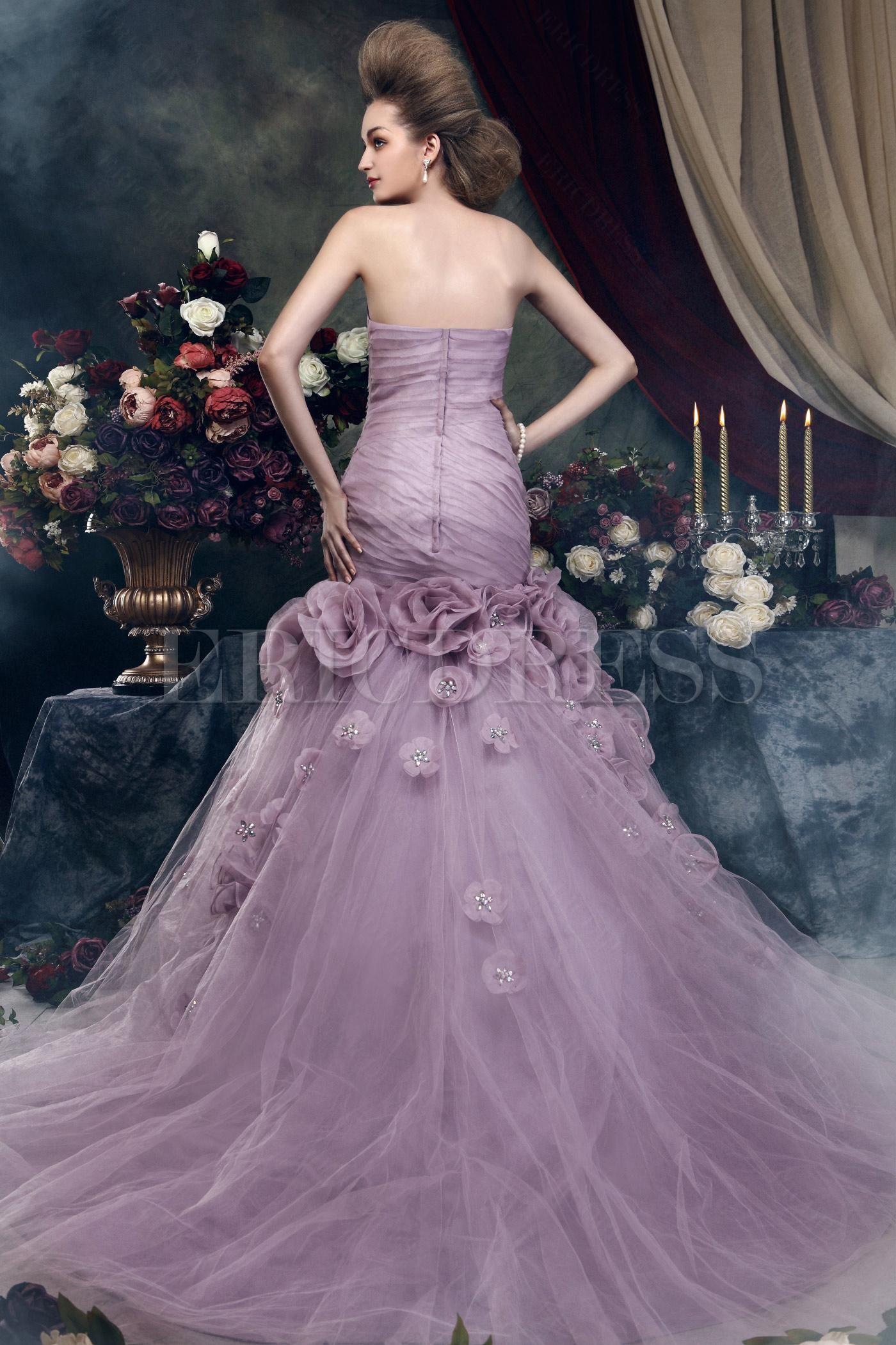 Purple Wedding Dress Meaning Purple Wedding Dress Mother Of The Bride Gown Mother Of The Bride Dresses [ 1205 x 800 Pixel ]