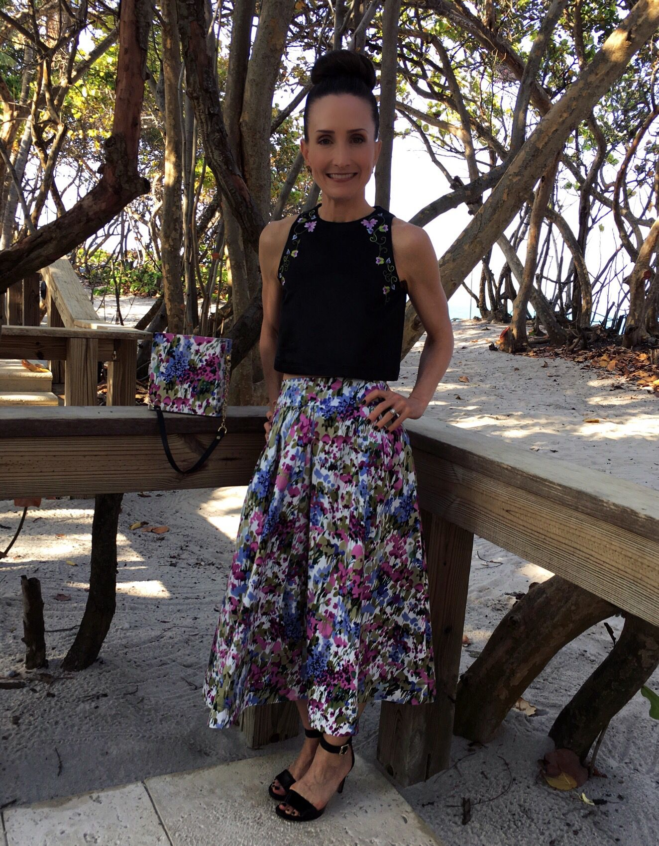 My take on Vogue pattern V9090 for the skirt and Burda Young pattern ...