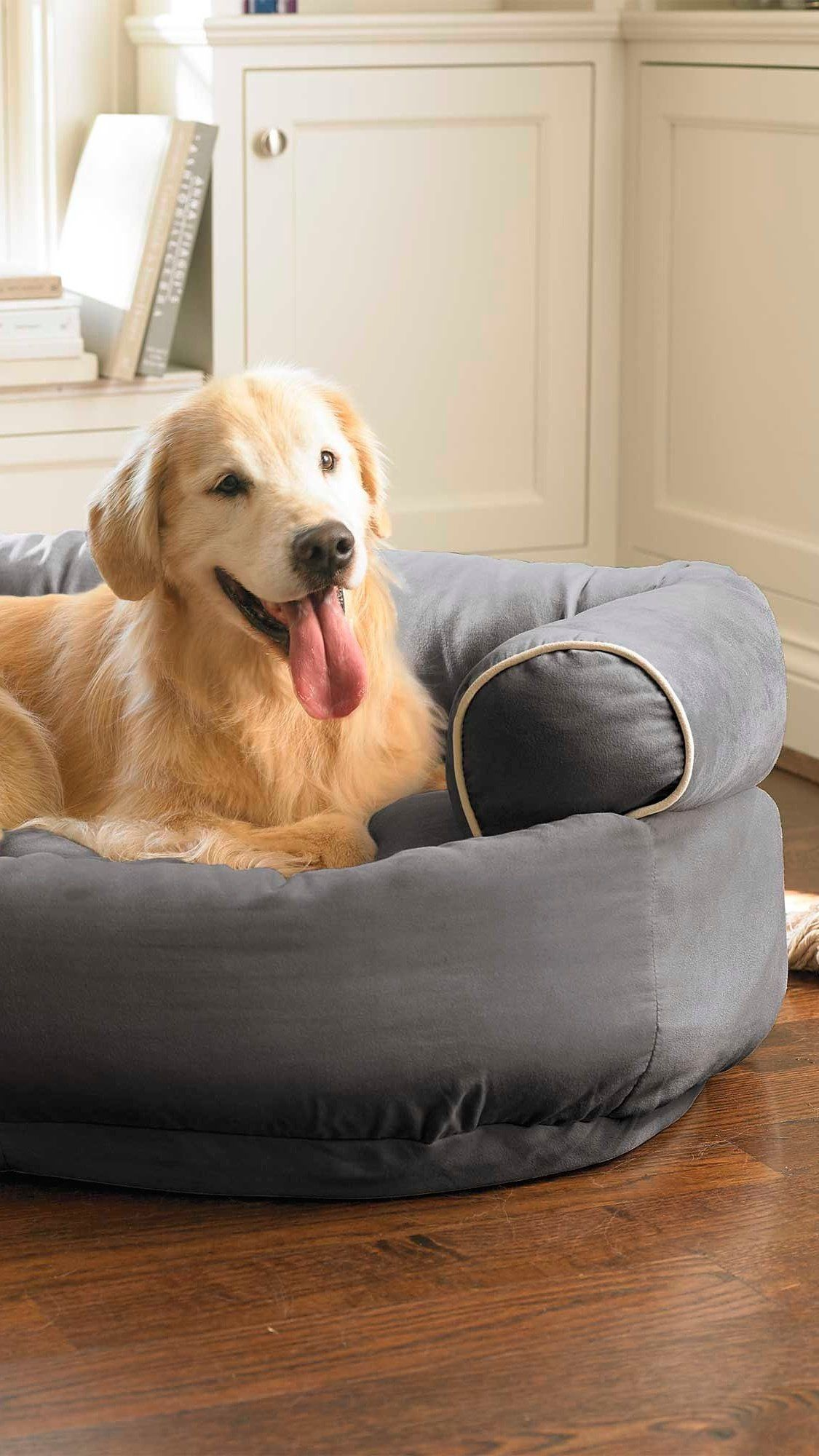 Double Your Pet S Comfort With The Tufted Orthopedic Comfort Of Our Easy To Clean Sofa Dog Bed All The Luxurious Comfort Of Dog Sofa Bed Dog Storage Dog Bed
