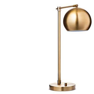 Target Threshold Modern Globe Desk Lamp (Gold)