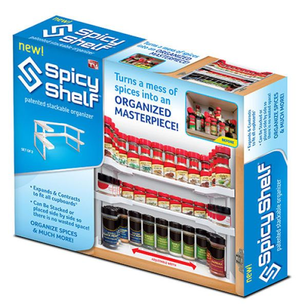 As Seen On Tv Spice Rack As Seen On Tv Spicy Shelf Organizer  Boscov's #300948 1999