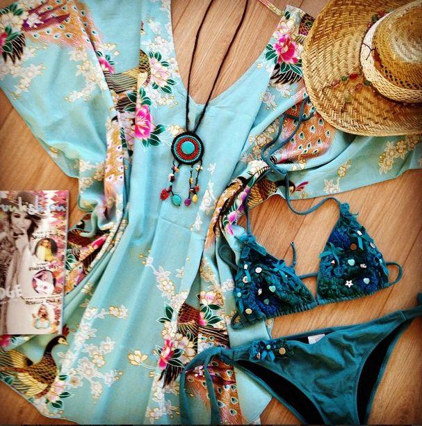 Ibiza boho girl style