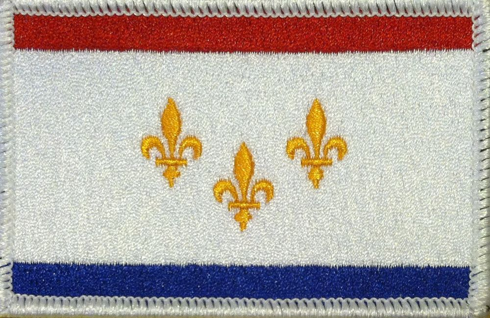 HONG KONG  Flag Embroidered Iron-On Patch Military Emblem Gold  Border