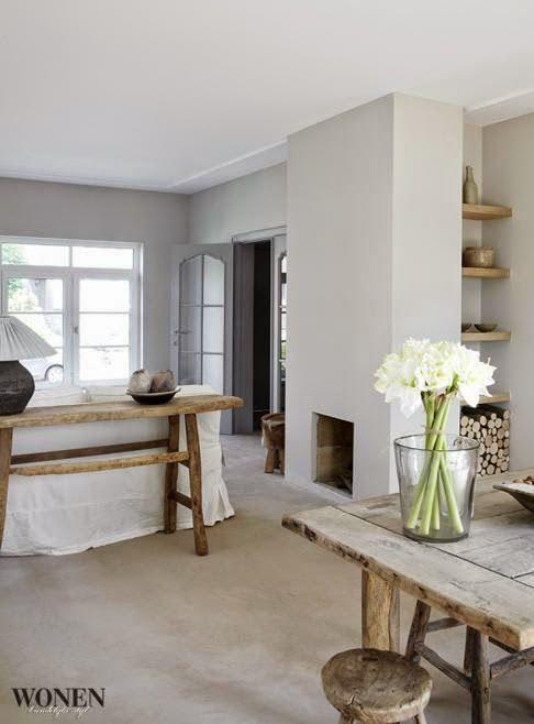 Inspiratie: sidetable achter de bank | Belgian style, Living rooms ...