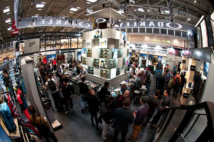 Oakley stand at ISPO by Green Room Munich exhibit design