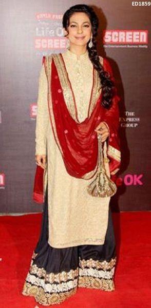Arabian Muslim Style Pazzelo Salwar Suit von Kunsthandwerkfüralle ...