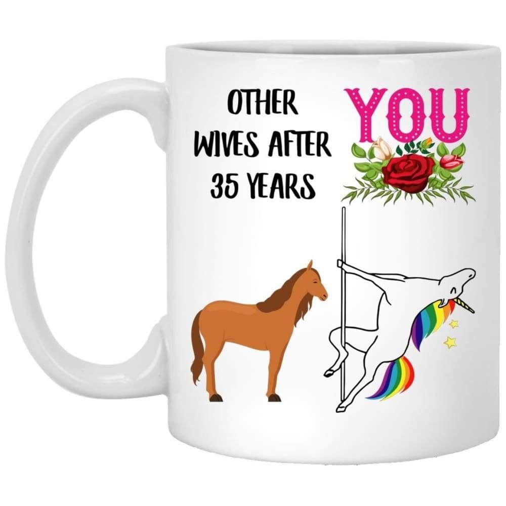 35 Years Wedding Anniversary Gift Ideas For Her Mug