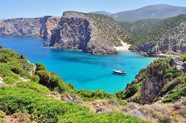 Cala Domestica Beach,Sardinia
