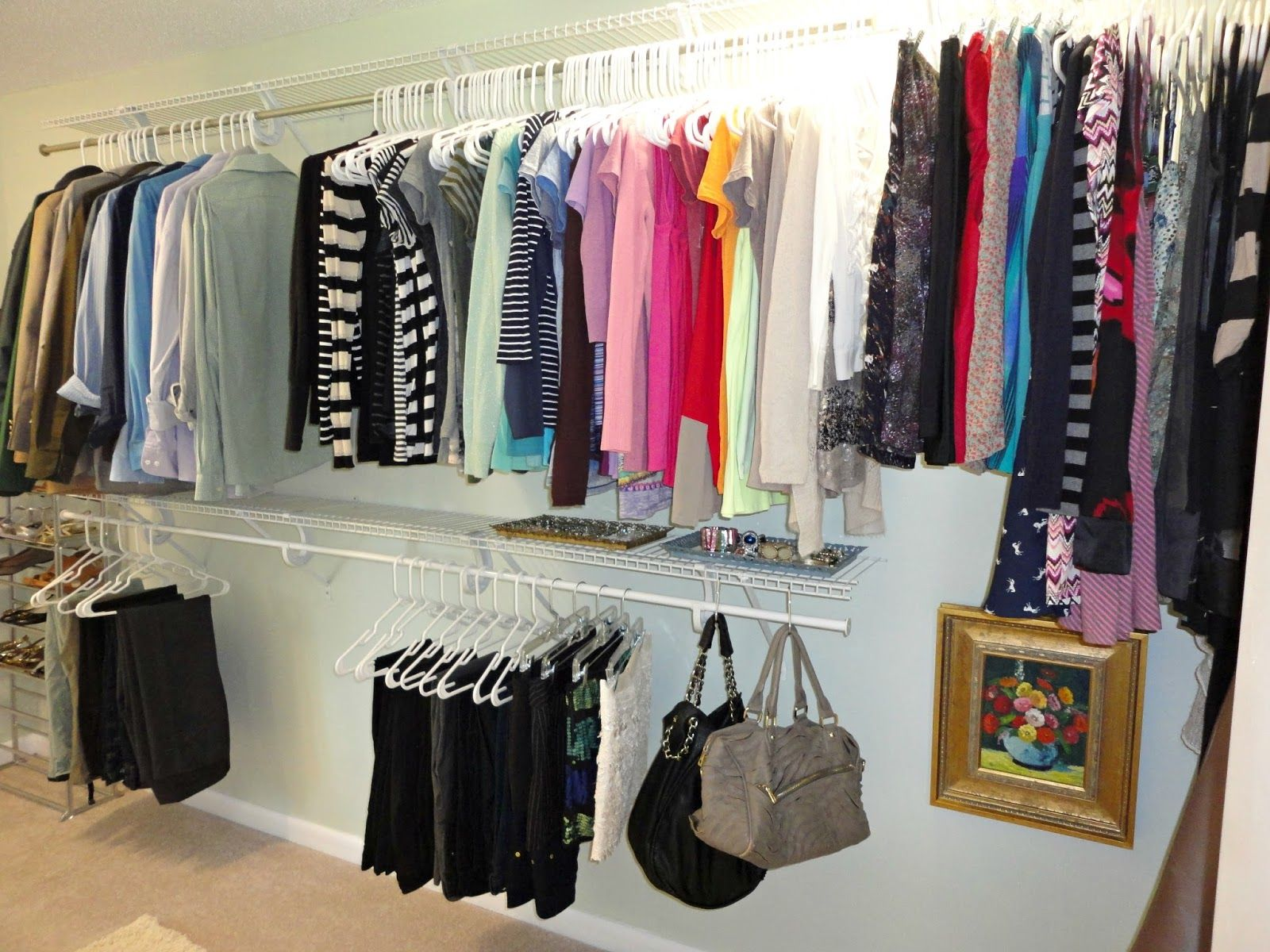How to turn your closet into a space you love for just 50 love this home decor ideas - How to turn a closet into a walk in dressing ...