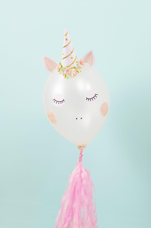 Häufig DIY Einhorn Luftballon selber basteln | DIY (Kids) | Einhorn ZB41