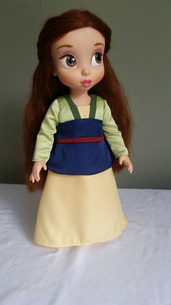 Disney Animators/' Collection Mulan Doll 16/'/'