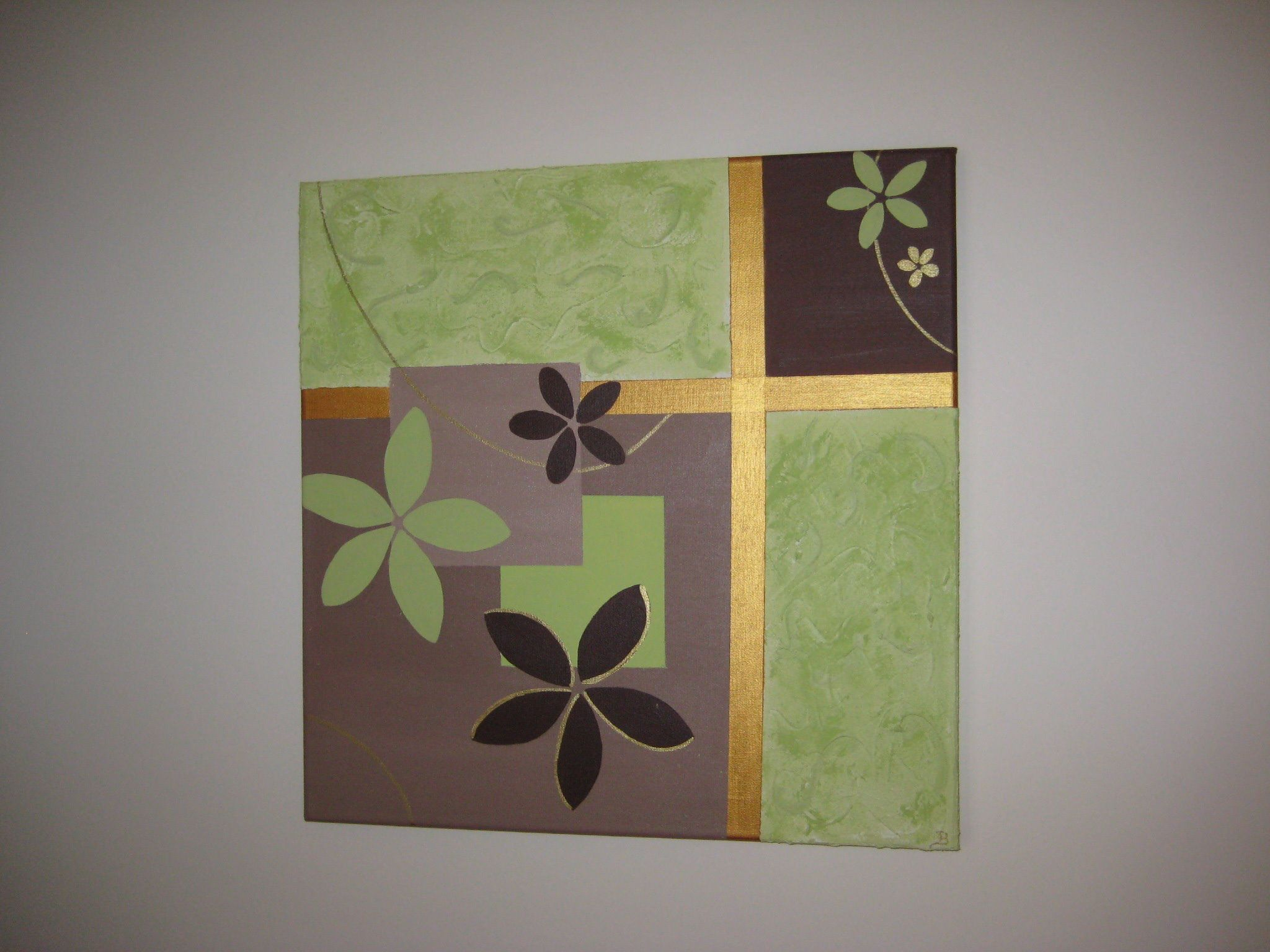 Diy canvas painting ideas homemade art canvas diy wall for Homemade diy