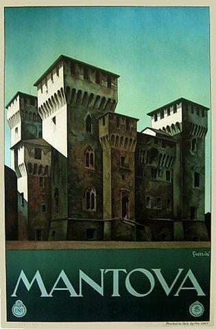 Amazon com - 1930's Mantova Italy ENIT Original Vintage
