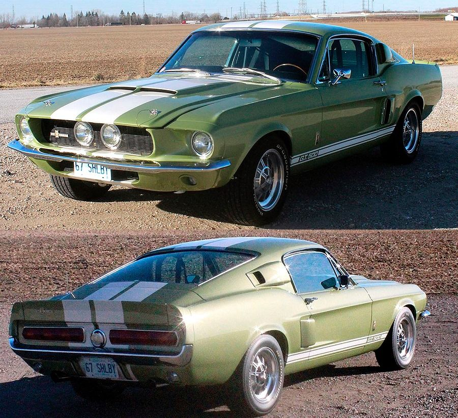 Shelby Gt500 1967 Ford Classic Cars Classic Cars Muscle