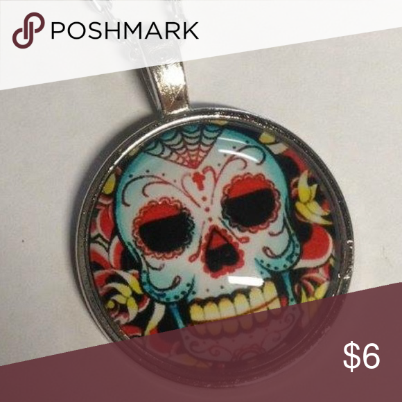 Sugar skull necklace. New! New necklace. Jewelry Necklaces