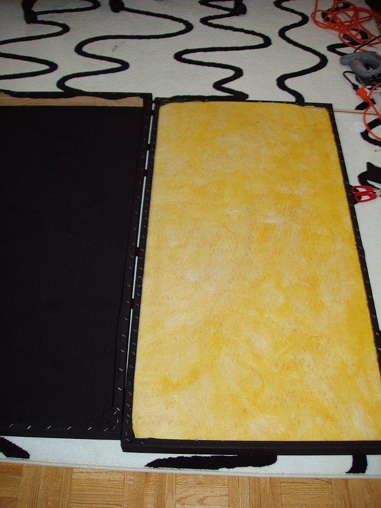 DIY acoustic panels | Acoustic panels diy