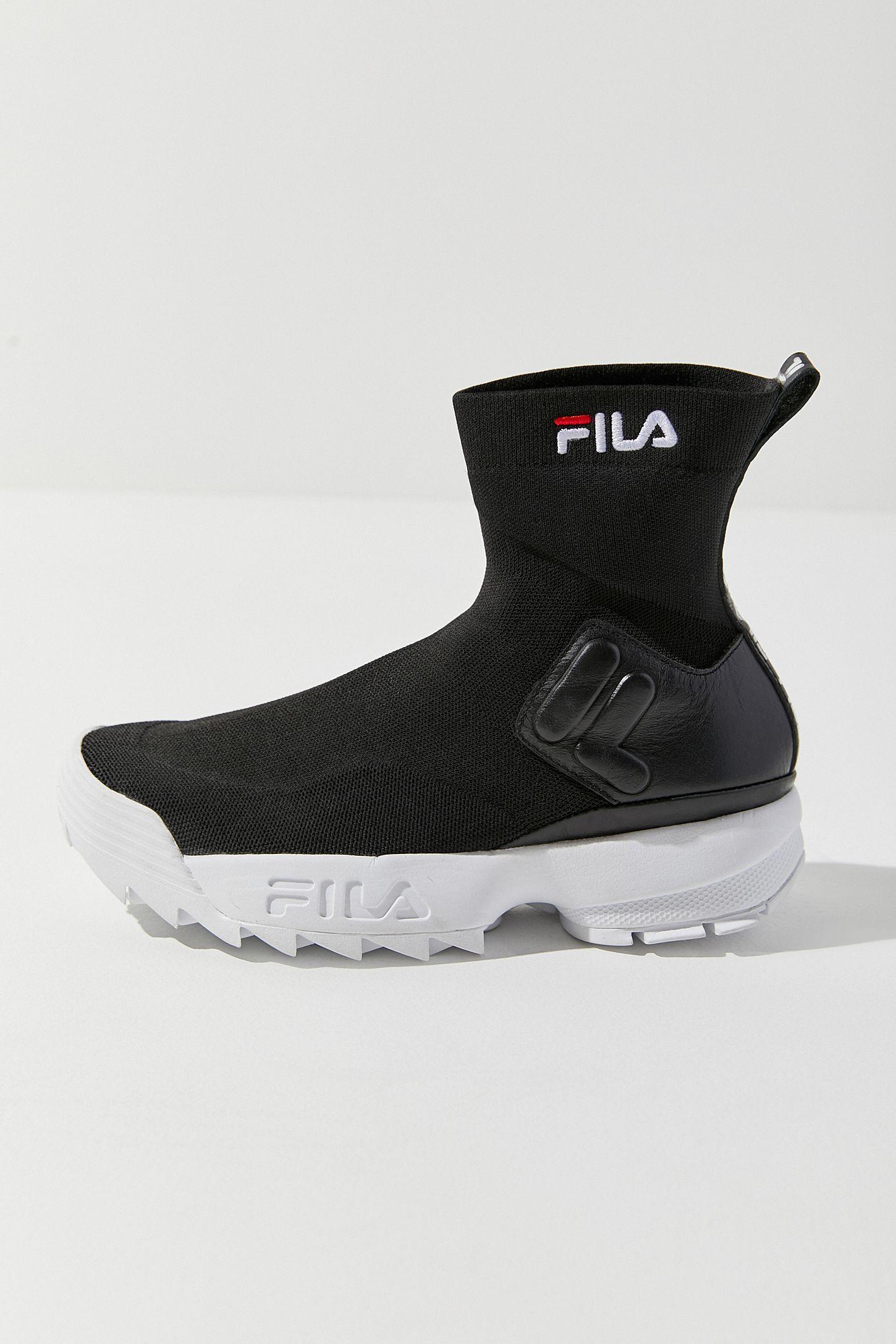 56f7e1b213cf9 Slide View  6  FILA UO Exclusive Disruptor Sock Boot