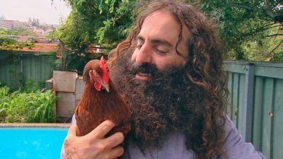 Gardening Australia On The Verge Costa S Chook Tips Chickens