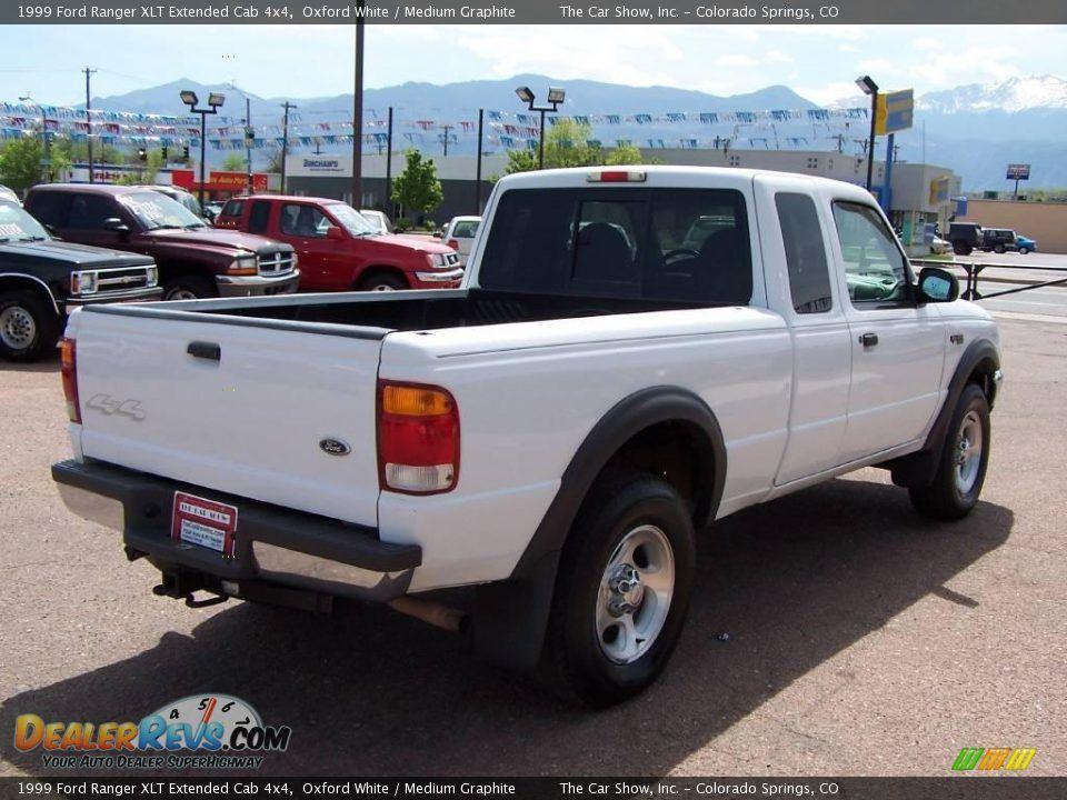 1999 Ford Ranger Extended Cab 1999 Ford Ranger Xlt Extended Cab 4x4 Oxford White Medium Graphite Ford Ranger Ranger Extended Cab