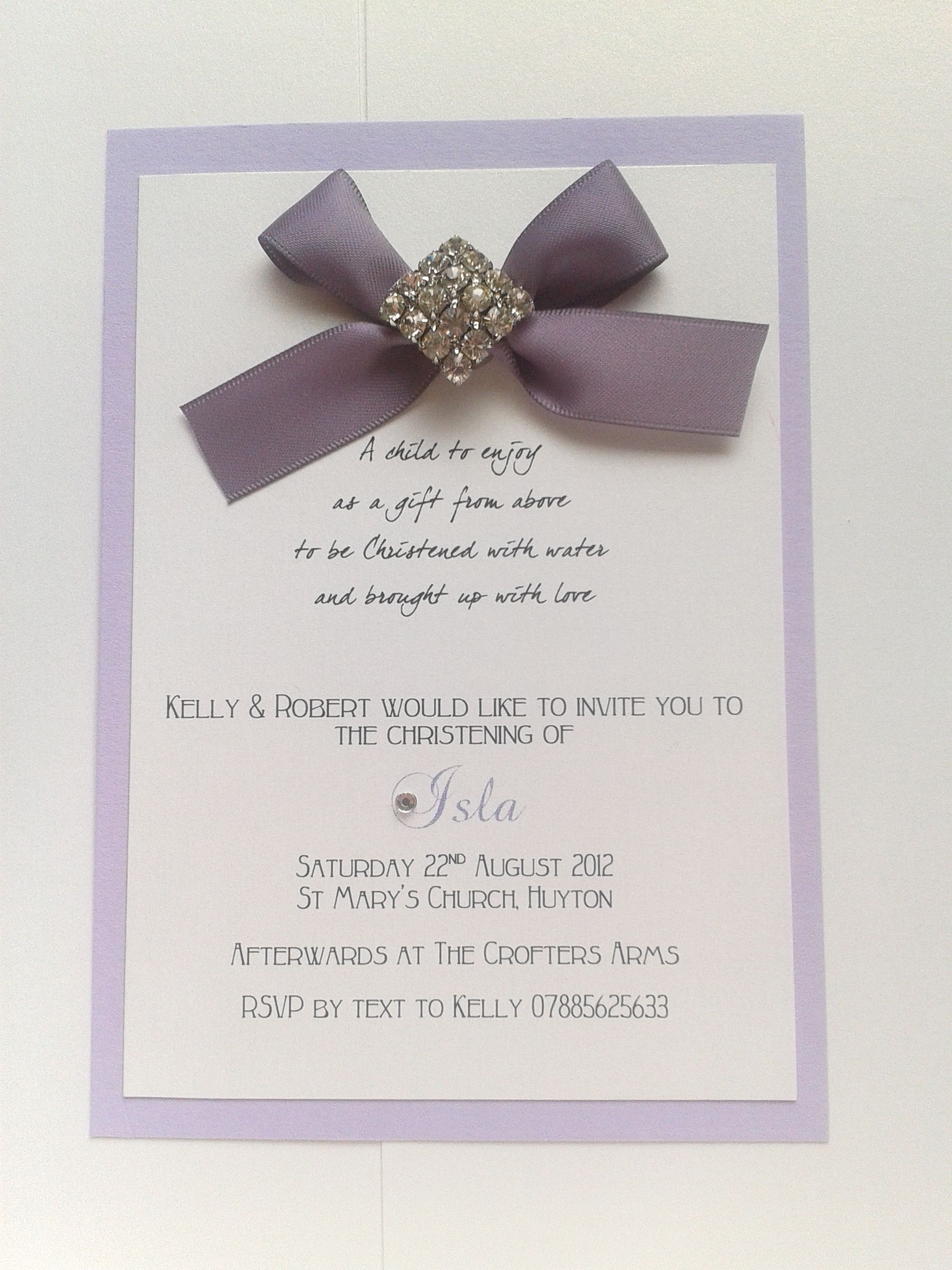 handmade christening invitations all about kids pinterest