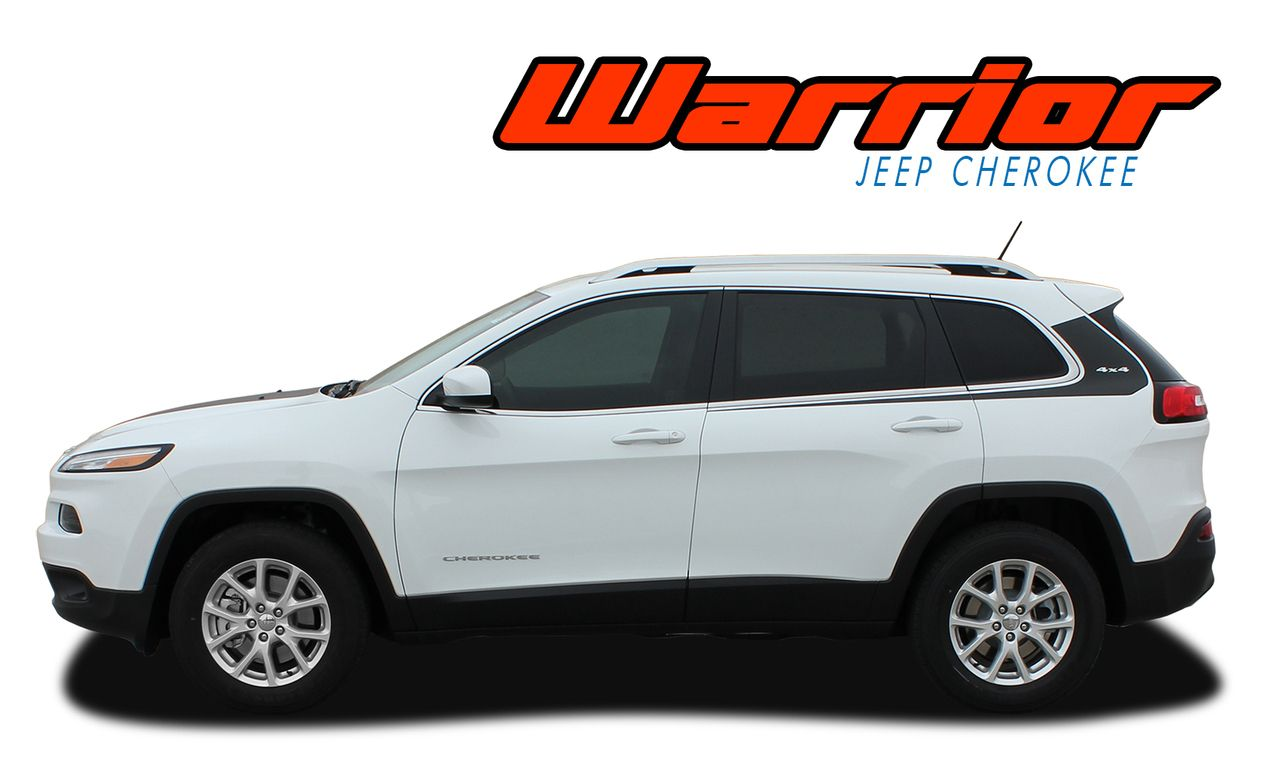 Warrior 2013 2019 Jeep Cherokee Upper Body Line Door Accent