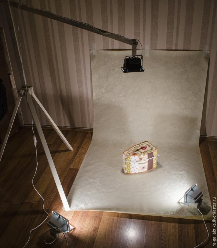 Самодельная фотостудия дома