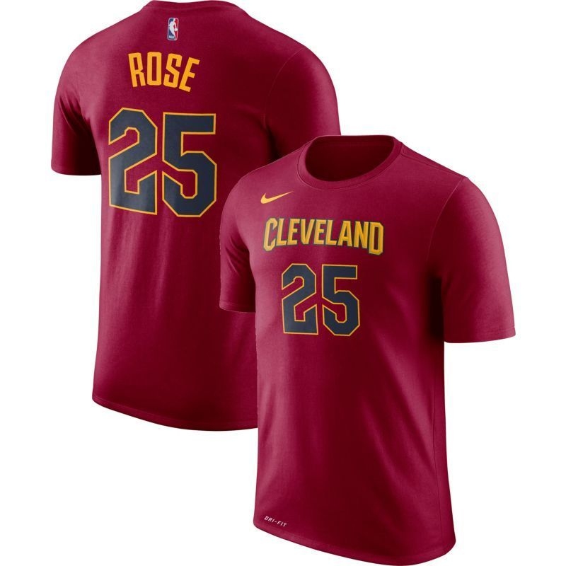 low priced 5ffcc 4c565 Nike Men's Cleveland Cavaliers Derrick Rose #1 Dri-FIT ...