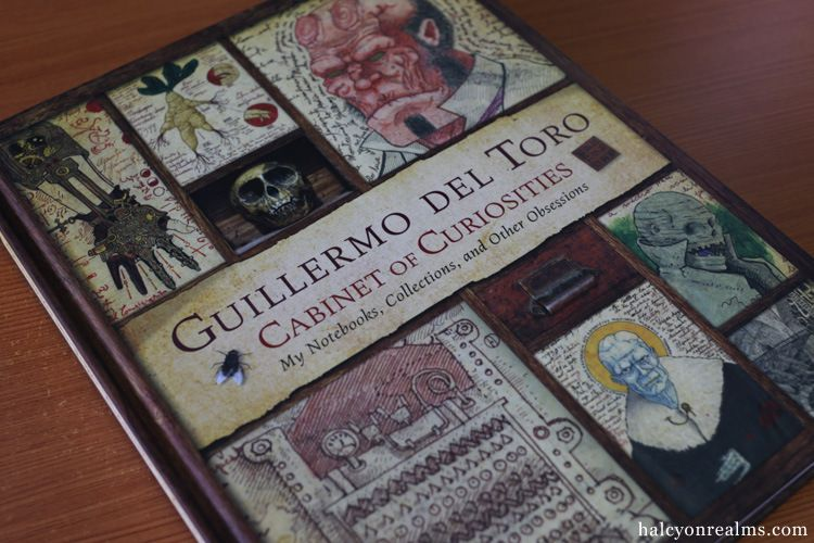 Halcyon Realms – Animation.Film.Photography and Art Book Reviews » » Guillermo Del Toro's Cabinet of Curiosities Book Review