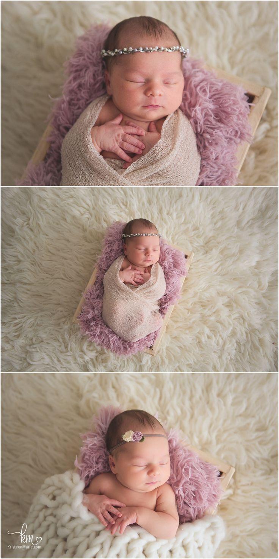 Sleeping newborn baby girl pink and cream photography pinterest photo bébé photo nouveau né et nouveau né