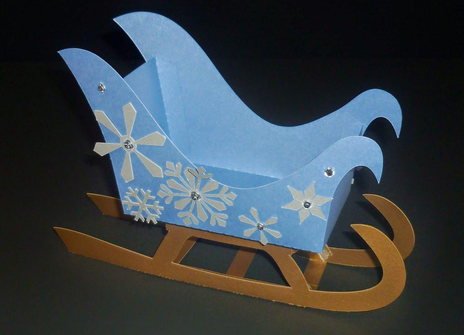 Minimandy trineo papel frozen elsa candy bar navidad for Trineo madera decoracion
