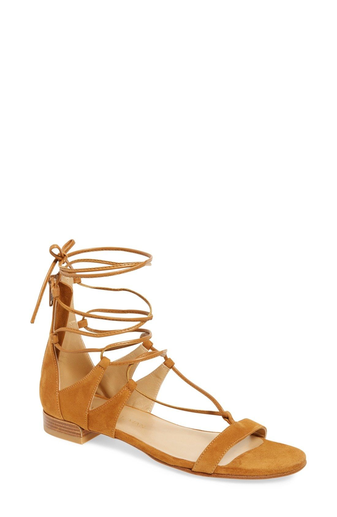 3386a3610468 Stuart Weitzman Tie-Up Sandal (Women) available at  Nordstrom ...