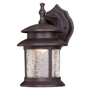 barn solar brown outdoor integrated led wall light with motion