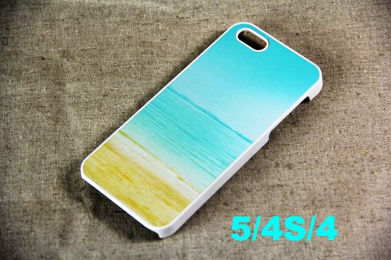 Summer Sea iPhone 5 Case, Hard Plastic Case and Rubber Case
