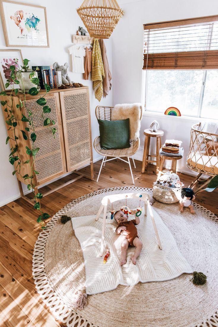 Photo of Une chambre de bébé bohème, trop mignon!! #babyroom  #kidsroom #chambrebebe #chambreenfant #chambre #chambrebohème #chambreboheme #bohemiandecor #bohemian #boho #espritbohème #rotin #décoration #déco #décobohème #bohemian
