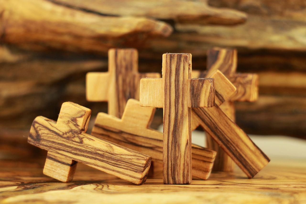 15 Olive Wood Crosses Wood Cross Necklacesmall Cross Pendantsmall