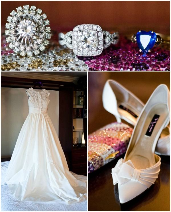 Wedding Dress Rings Shoes by Camera Famosa Photography