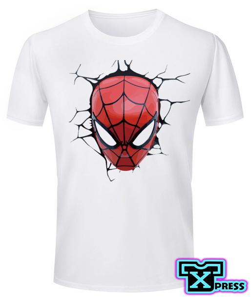 4d972797b8c99 Camiseta Cabeza Spiderman Para Caballero