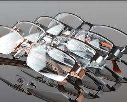 Štýlové okuliare na prácu s počítačom v čierno-pomarančovej farbe ... 9c526f33d30