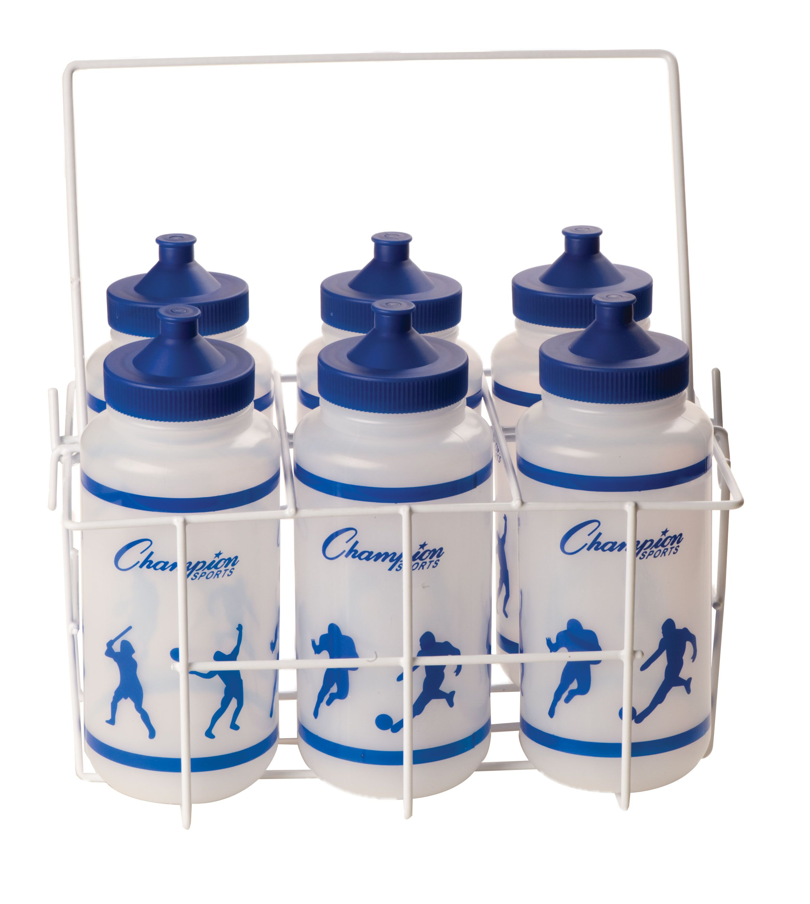 Physical Education Soccer Coated Wire Water Bottle Carrier