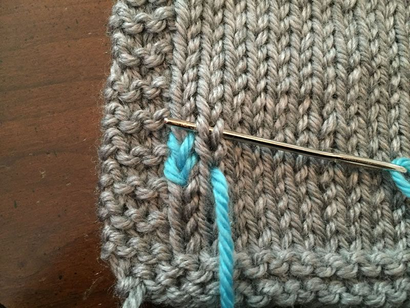 Guide To Duplicate Stitch Knitting Tips Techniques Pinterest
