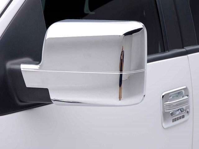 F150 2004-2008 FORD (2 pieces: Mirror Cover set: *Chrome Plated ABS plastic - Imported) MC44308
