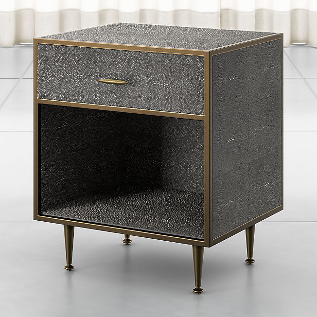 Nightstands And Bedside Tables Online Crate And Barrel Shagreen Furniture Crate And Barrel Bedside Tables Nightstands