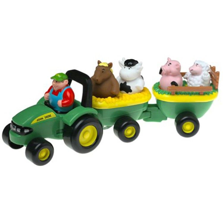 Black Friday 2014 Ertl John Deere Animal Sounds Hay Ride From Tomy Cyber Monday