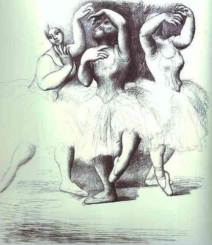 """Résultat de recherche d'images pour """"picasso 3 danseuse"""""""